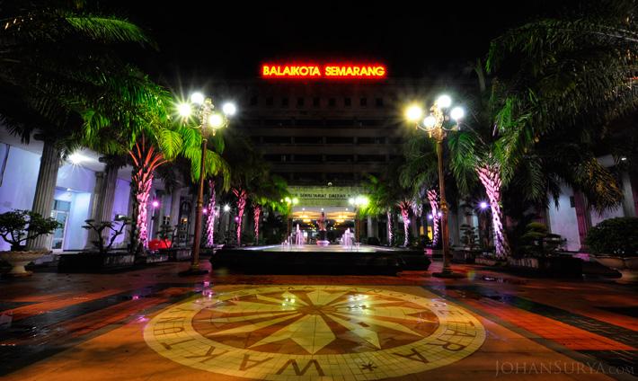Night Photography : Gedung Balaikota Semarang