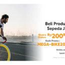 Bank Mega Beli Produk & Aksesoris Sepeda Makin Seru