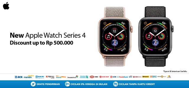 Saatnya beli Apple Watch Series 4