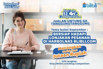 Blibli Seller Blog Competition September 2019