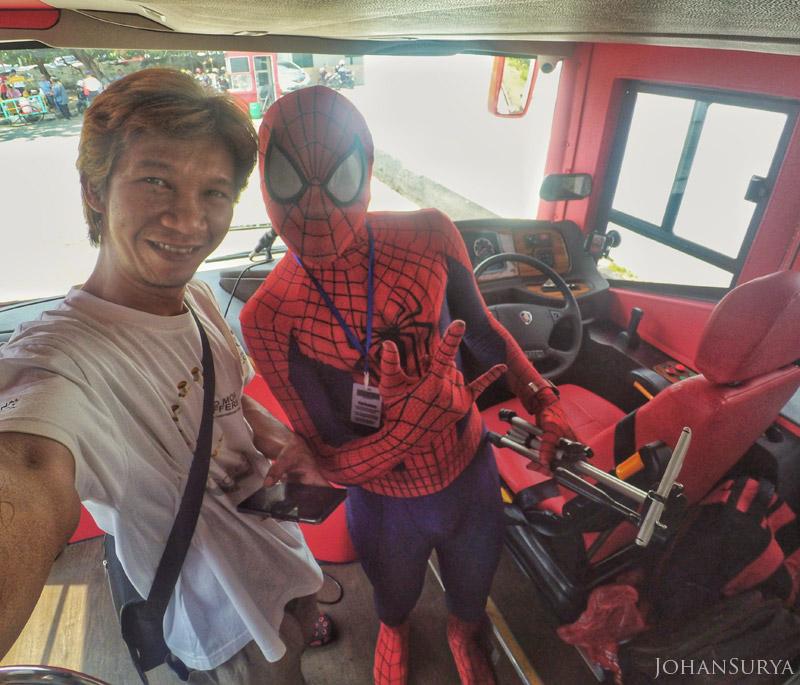 Bus Wisata Yuk Muter - Muter Semarang - Amazing Spidermart