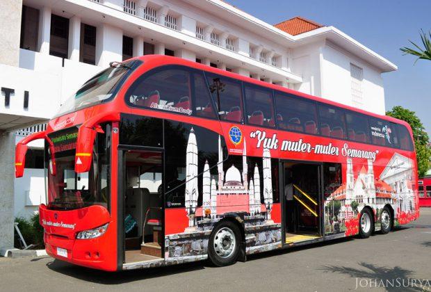 Bus Wisata Yuk Muter - Muter Semarang