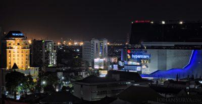 Night Photography : Novotel Hotel - Whiz Hotel - Paragon Mall