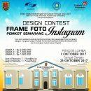 Design Contest Frame Foto Instagram Pemkot Semarang
