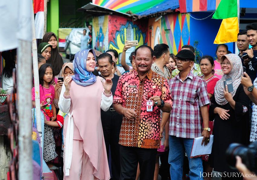 Cerita Dewi Sandra di Semarang