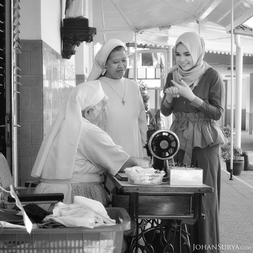 Cerita Dewi Sandra - Susteran St. Fransiskus Gedangan Semarang
