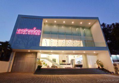 Esthetico Derma Institute - Semarang - Blue Hour Photography