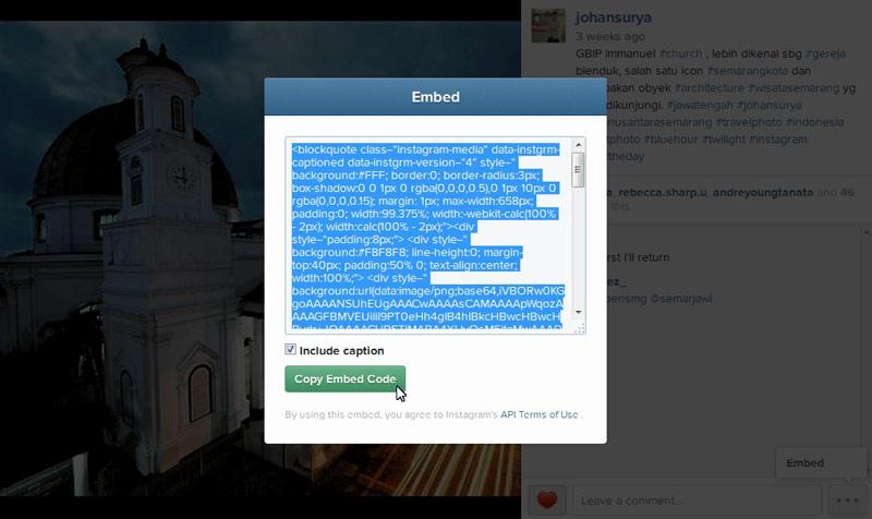 Cara Mudah dan Cepat Menampilkan Foto Instagram di WordPress