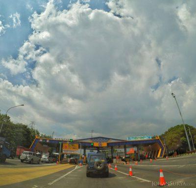 Gerbang Tol Manyaran Semarang