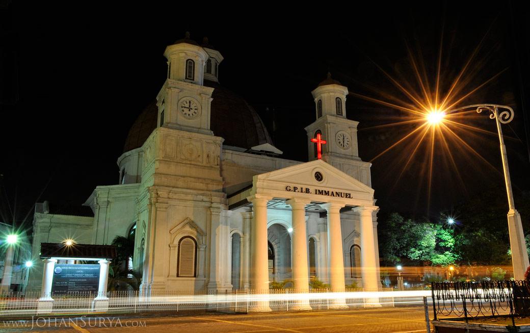 Gereja Blenduk Night Photography