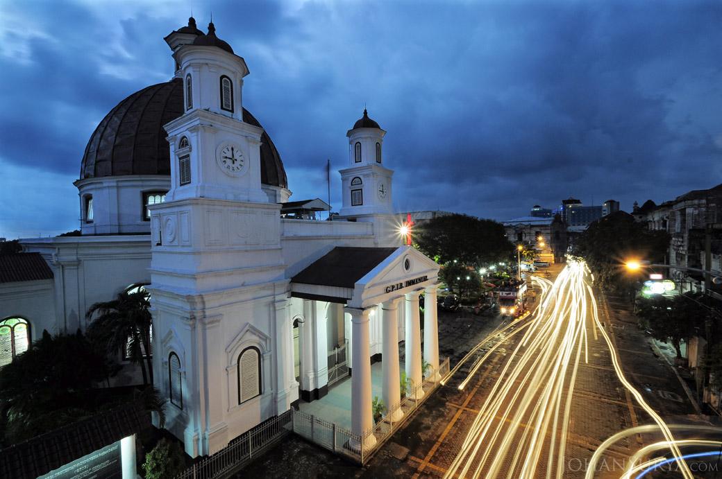 View from top - Gereja Blenduk Semarang