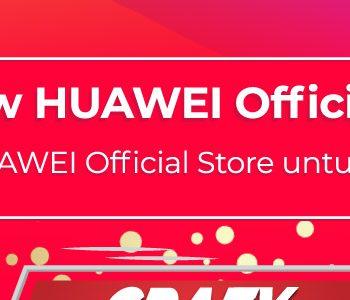 Huawei Crazy Flash Sale di Lazada