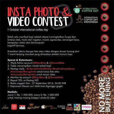 Insta Photo & Video Contest International Coffee Day - Semarang