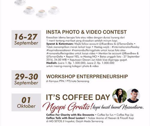 International Coffee Day - Semarang