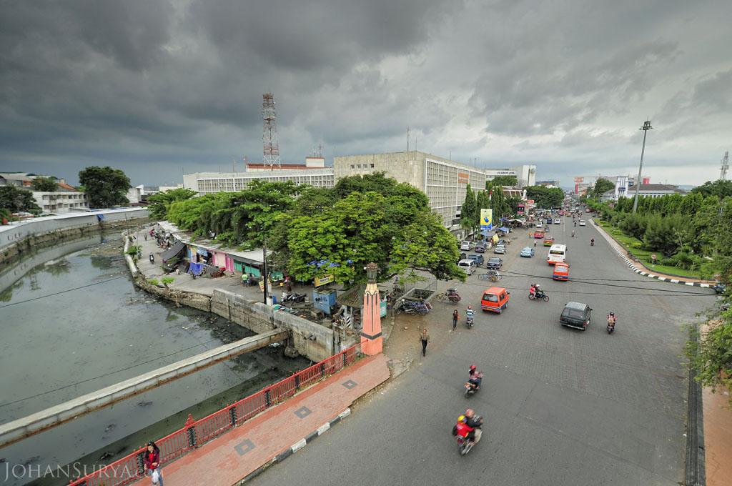 Jalan Pemuda Kali Semarang