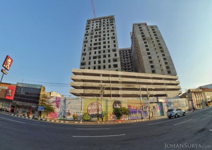 Pembangunan Apartemen di Jalan Pemuda
