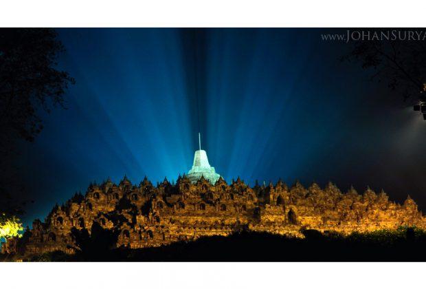 Borobudur Temple at Night - Magelang