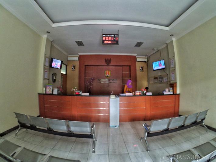 Ruang Pelayanan Publik - Kantor Camat Semarang Barat