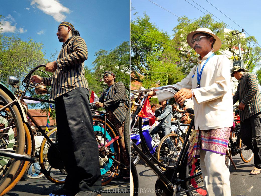 Sepeda Onthel Kuno Karnaval Dugderan 2011 Semarang