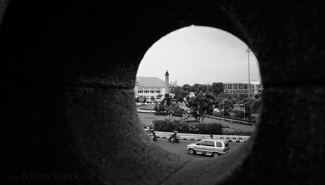 Framing Tugu Muda Semarang