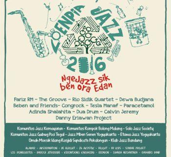 Loenpia Jazz 2016 - Ngejazz Sek Ben Ora Edan - Semarang