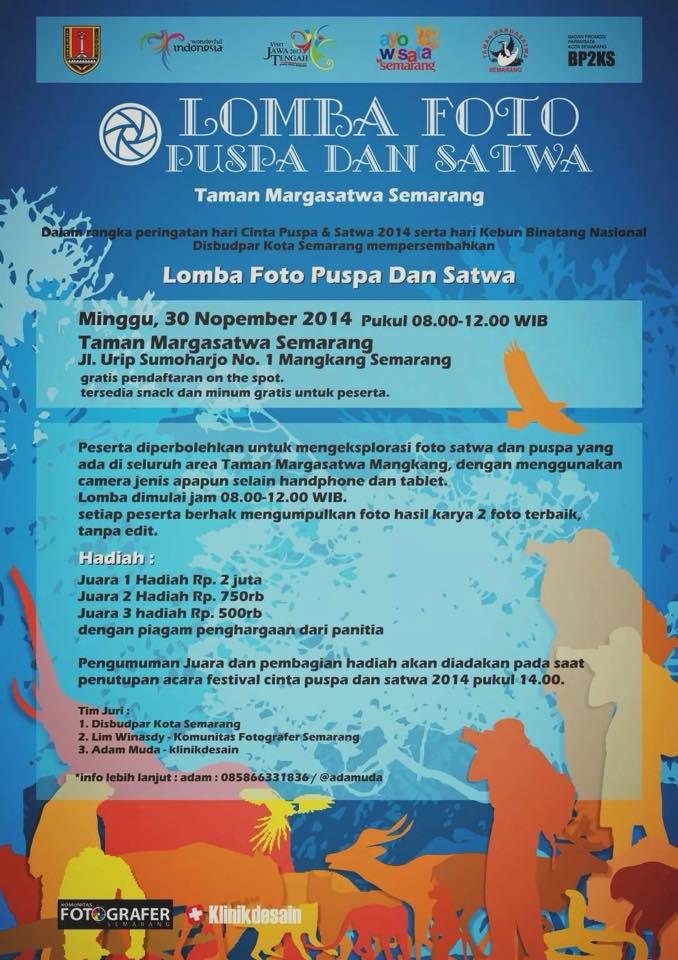 Lomba Fotografi Taman Margasatwa Semarang