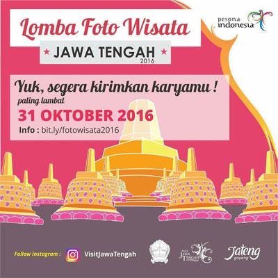 Lomba Foto Visit Jawa Tengah 2016 - Semarang