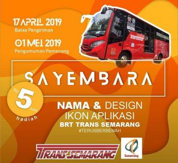 Sayembara Nama & Desain Ikon Aplikasi BRT Trans Semarang