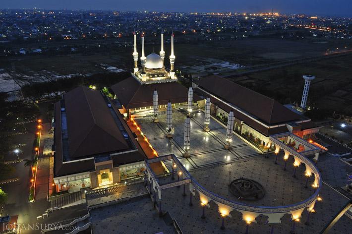 Blue Hour Masjid Agung Jawa Tengah