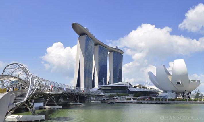 Marina Bay Sands Hotel - Singapore