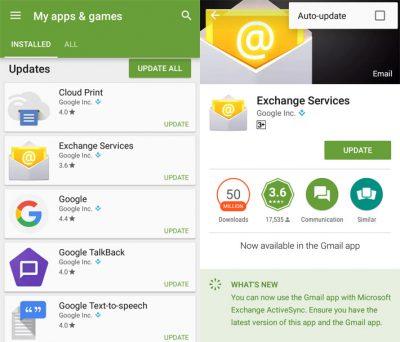 Mematikan Fitur Auto Update di Aplikasi Android