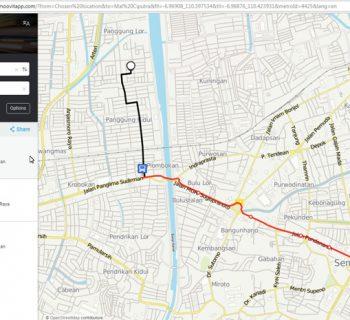 Aplikasi MOOVIT - Petunjuk Rute Angkutan Kota