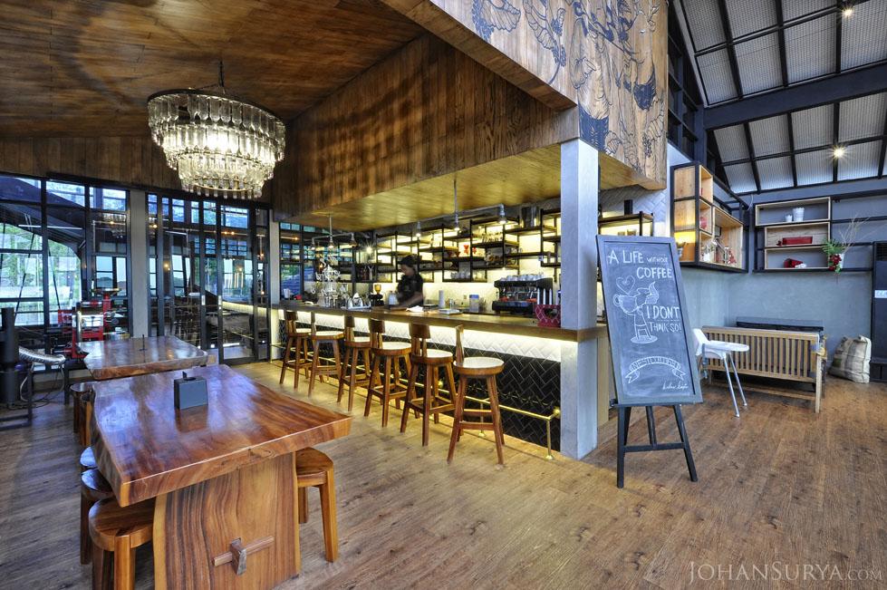 Coffee Shop Interior Design - Nestcology - Semarang