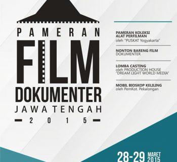 Pameran Film Dokumenter Jawa Tengah 2015