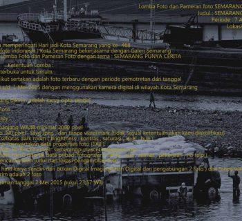 Lomba Foto dan Pameran Foto Semarang Punya Cerita