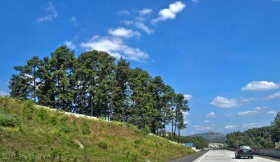 Panorama Jalan Tol Semarang Bawen