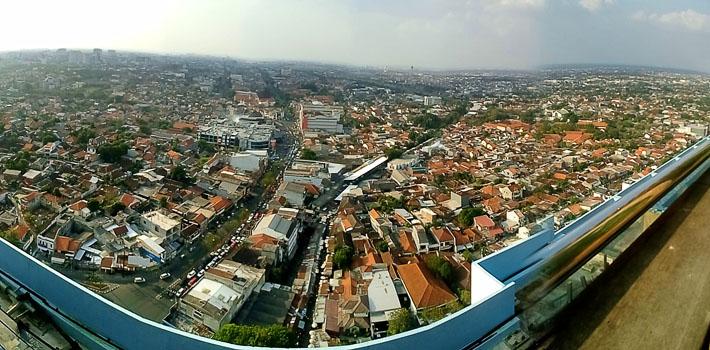 Panorama Semarang dr Star Hotel