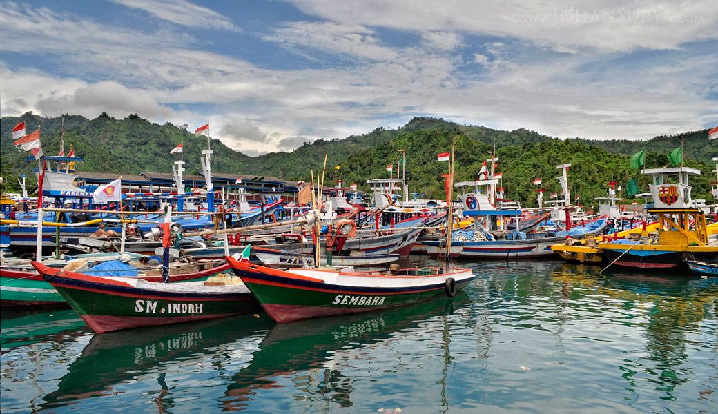 Pelabuhan Nusantara Prigi - Jawa Timur