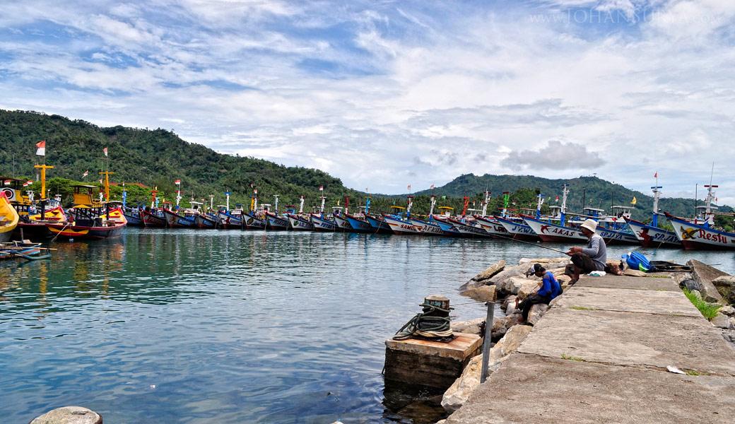 Pelabuhan Perikanan Nusantara Prigi - Jawa Timur