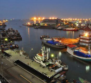 Blue Hours - Tanjung Emas Port Semarang