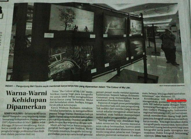 Radar Semarang, Kamis - 9 Januari 2014