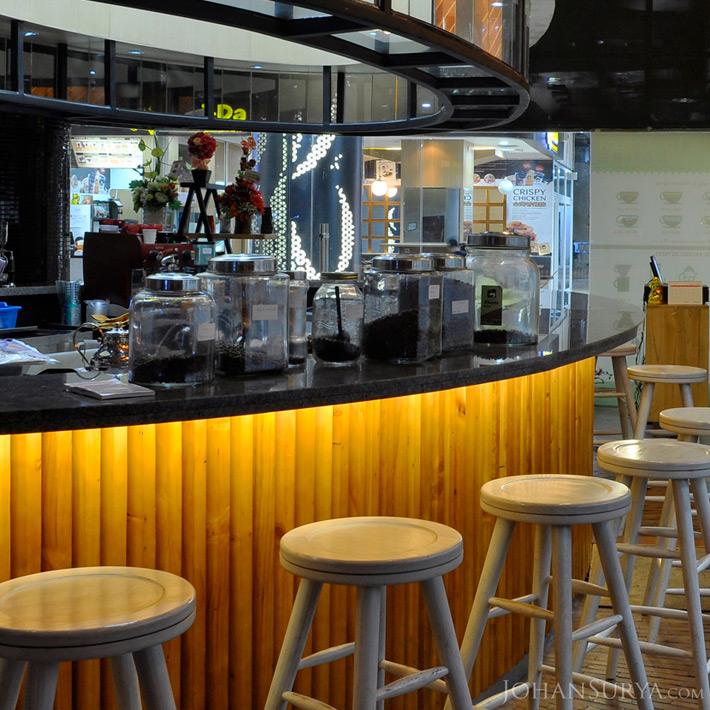 Inteior Design Rise n Brew Mini Bar - Semarang Town Square