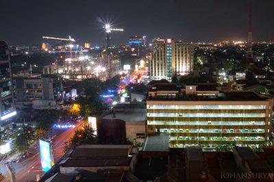 Jalan Gajahmada - Hotel Ibis - Hotel Tentrem