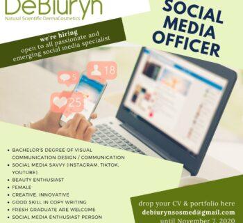 Social Media Officer - Lowongan Kerja Karir Semarang