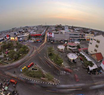 Bundaran Taman Jurnatan Semarang