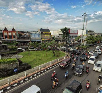 Taman Madukoro & Jl. Jend. Sudirman
