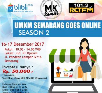 UMKM Semarang Goes Online Season 2