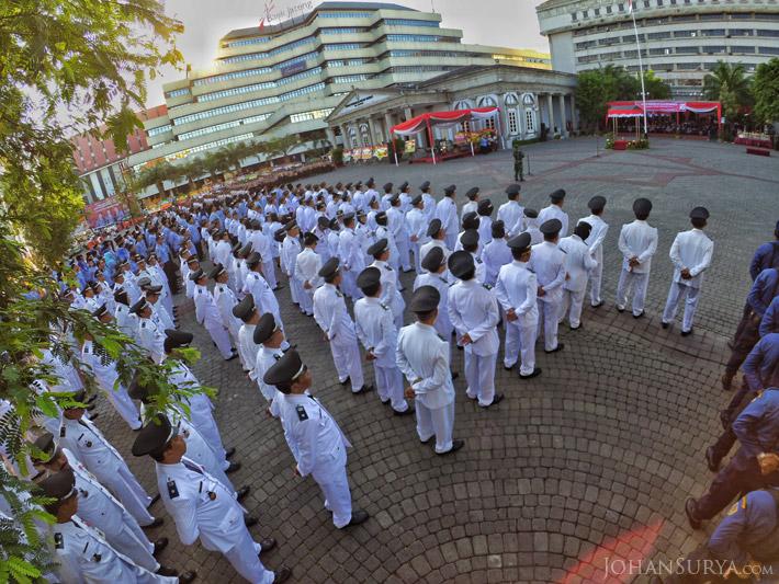 Upacara Peringatan HUT ke 469 Kota Semarang - KORPRI