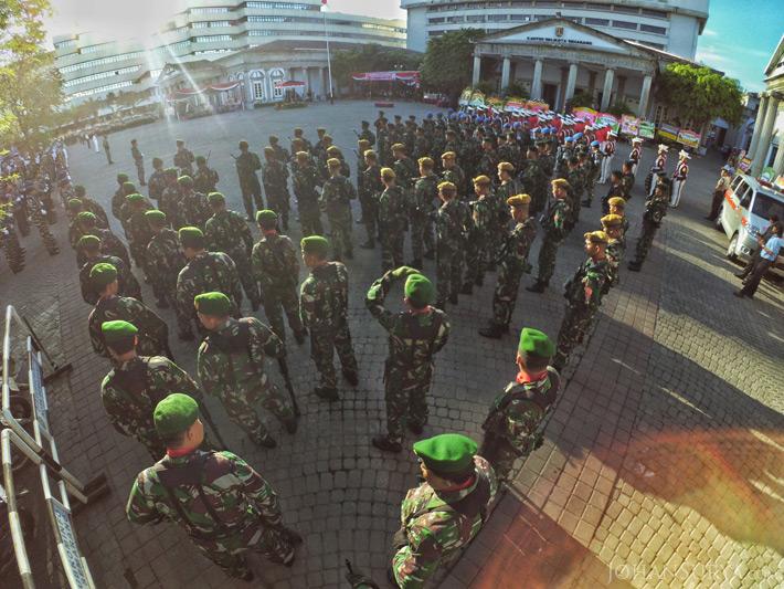 Upacara Peringatan HUT ke 469 Kota Semarang - TNI