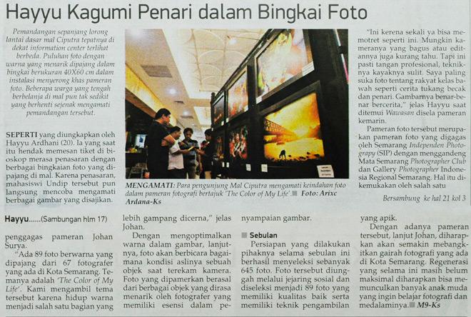 Koran Pagi Wawasan, Jumat - 10 Januari 2014